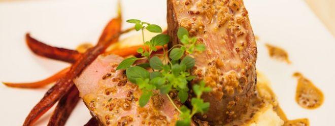 Zeste | Filet de porc à la moutarde de Dijon et au whiskey