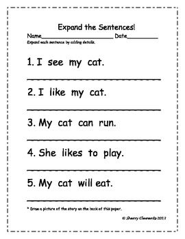 how to write a sentence worksheets for 1st grade. Black Bedroom Furniture Sets. Home Design Ideas