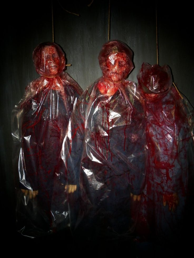 Deadly Deals 6ft Bloody Body Bags