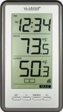 Digital Thermometer With Indooroutdoor Temperature
