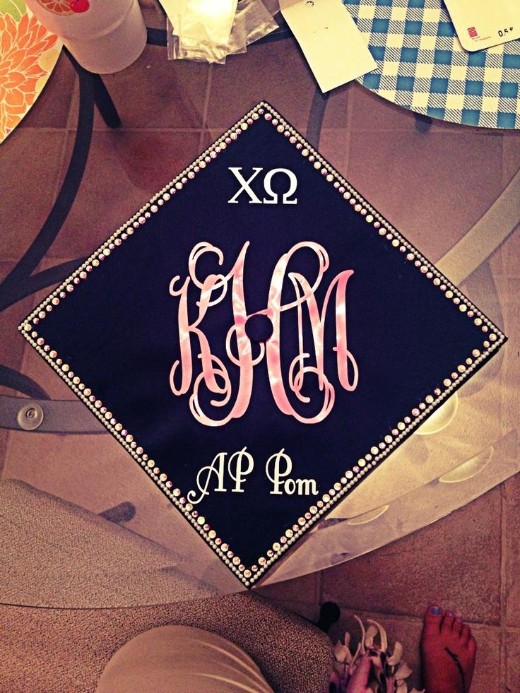 Sorority Graduation Cap! #decorateyourgradcap