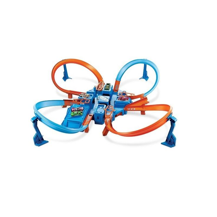 Hot Wheels Criss Cross Crash Trackset Toys New Track Race Die Cast #HotWheels