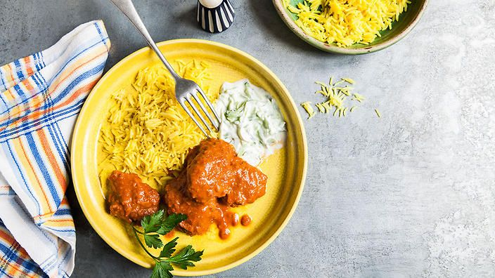 Butter chicken (murgh makhani) | Curry recipes | SBS Food