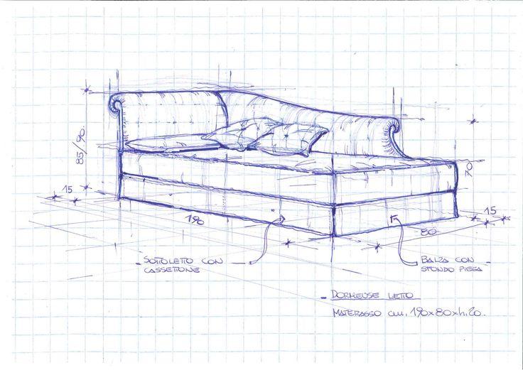 Dormeuse Londra, design by #Berto. #madeinitaly #bertoprogetti