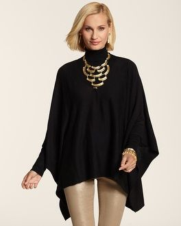 Ponchos look so classy, whether you dress them up with great jewelry and chic pants or simply wear them with jeans! Keep things sexy underneath with a stunning fashion bra from Bra~vo intimates!