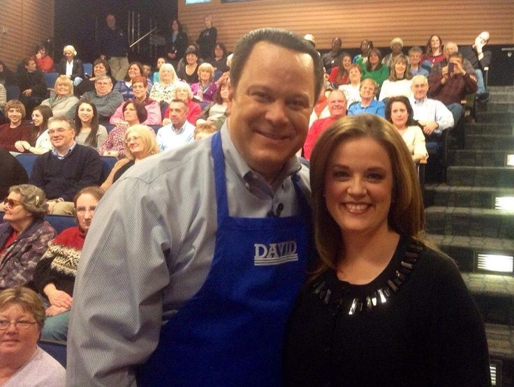David and Mary QVC. In the Kitchen with David Live Audience Show