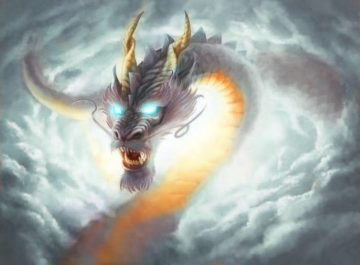 Облачный дракон картинки