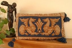 William de Morgan tapestry kit 'Sand's End Griffins'