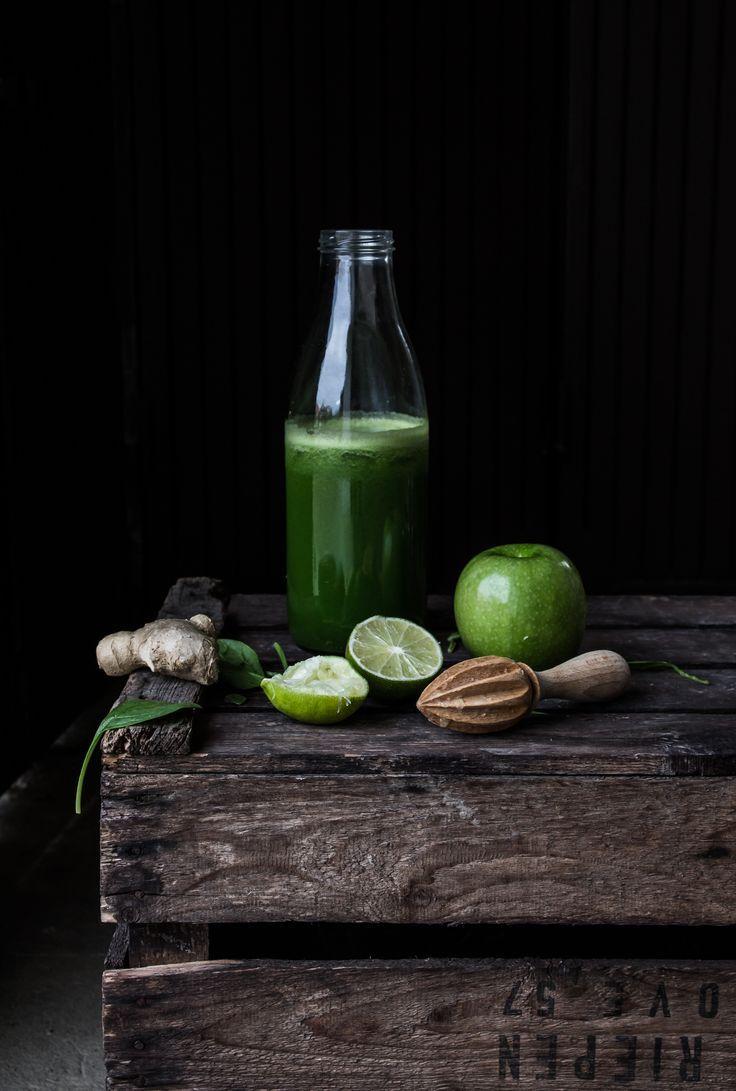 Zumo Verde, green juice,                                                                                                                                                     Más