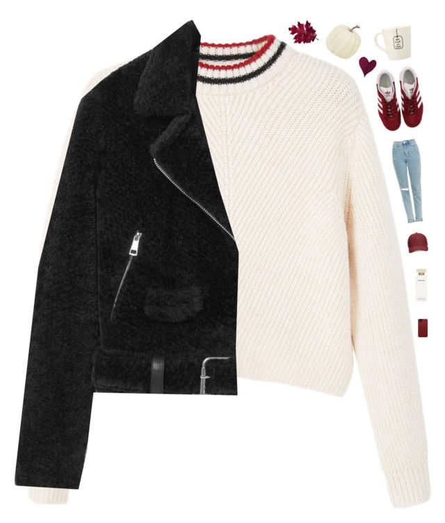 """""""Coziness"""" by genesis129 ❤ liked on Polyvore featuring MANGO, Topshop, adidas, Whistles, Narciso Rodriguez, Case-Mate and vintage"""