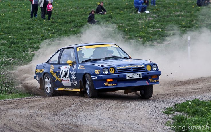 Opel Manta (B) Rally Car