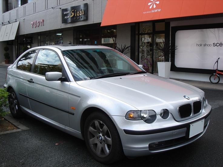 BMW 318ti My Car! Thanks Auntie(: