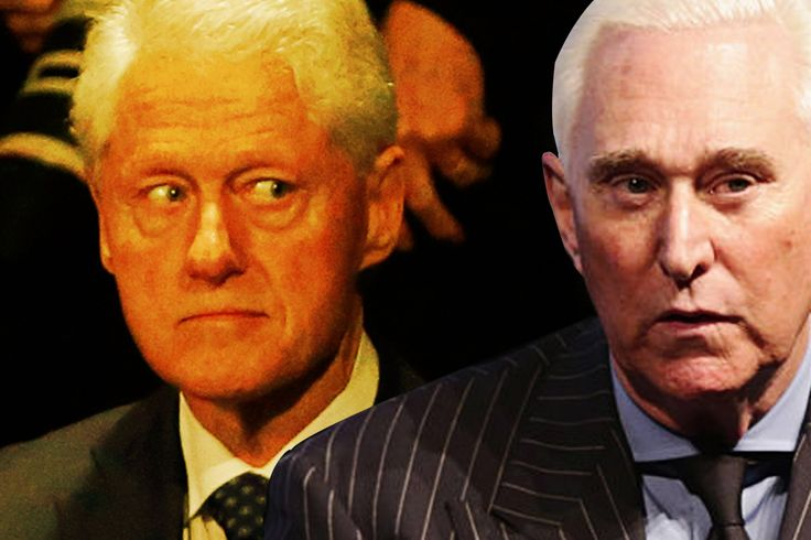 Troll Daddies Roger Stone and Chuck Johnson Fight Over Bill Clintons Son