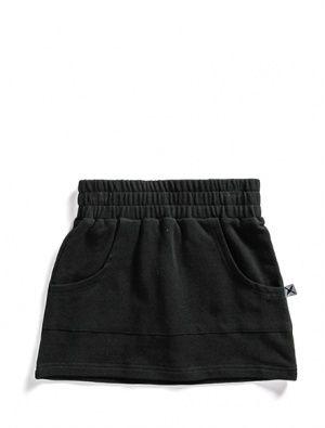 Buy Minti Zippy Skirt Black