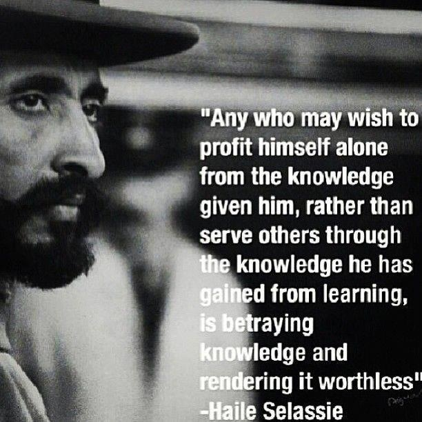 KING Haile Selassie WWW.RICARDOSAMUDASINCLAIR.COM