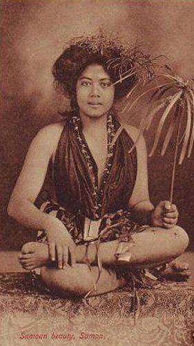 Samoan chief and warrior  janesoceania.com