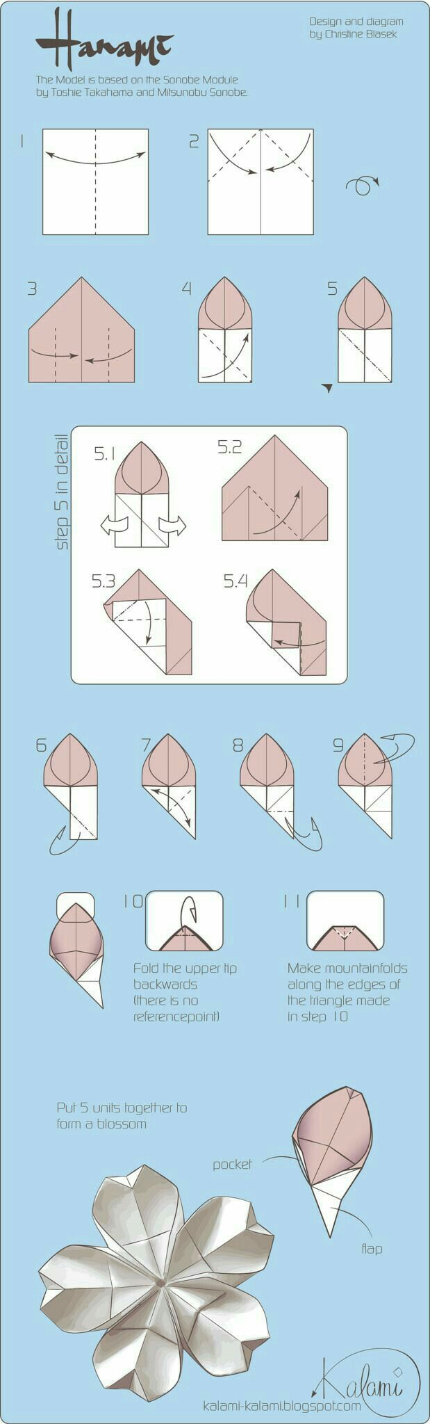 Origami Module Instructions Google Search Paper Crafts Bird Curler Diagram Kusudama Me Craftsorigami Pinterest Tutorial Diy Modular Blume Diagrams Folding Art