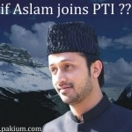 Atif Aslam joins Pakistan Tehreek e Insaaf (PTI) ???