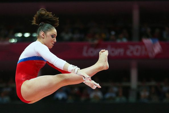 Aliya Mustafina of Russia competes in the Artistic Gymnastics Women's Uneven Bars final on Day 10 of the London 2012 Olympic Games at North Greenwich Arena on August 6, 2012 in London, England.