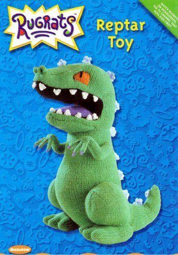 Rugrats Knitting Pattern: Reptar Toy by Alan Dart, http://www.amazon.co.uk/dp/B007GLLEJM/ref=cm_sw_r_pi_dp_THNitb1P2WHEM