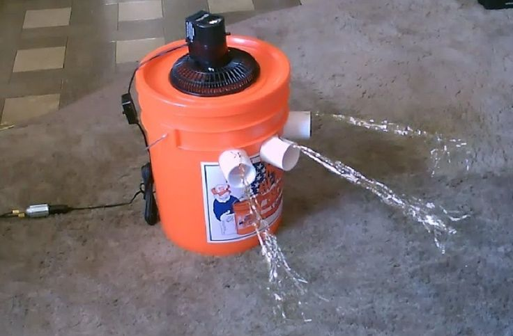 ... dyi airconditioner add the frozen gallon of ice pauline guy dyi ideas