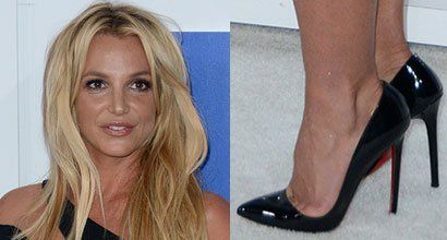 Britney Spears Picks Too-SmallChristian Louboutin Pumps for MTV VMAs