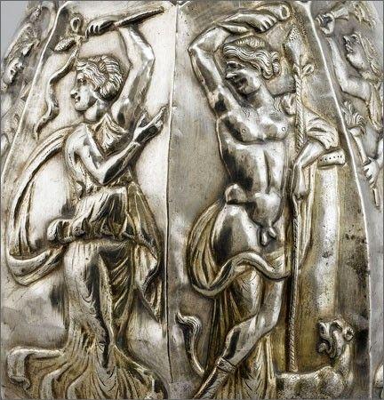 Le trésor, daté de 350 à 450 avant JC Sevso,Romania Dacian culture