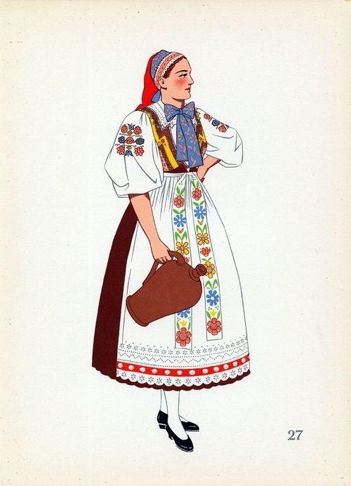 Old Slovakian attire.