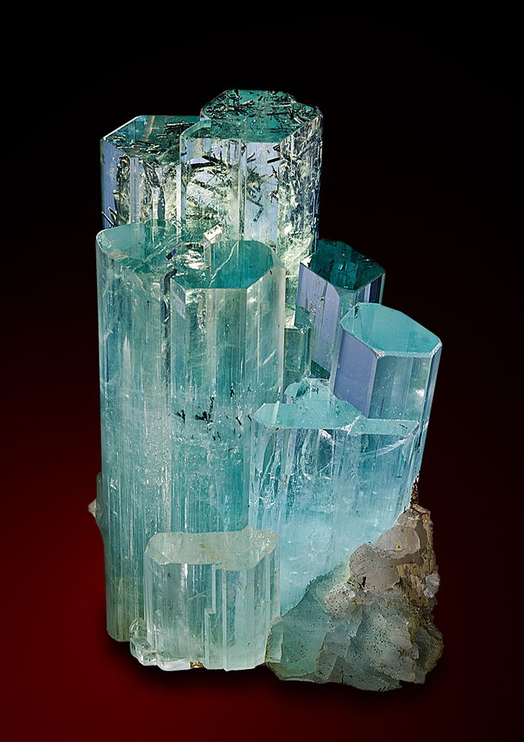Aquamarine -  Dassu, Haramosh Mountains, North of the Skardu Road, Gilgit Division, Northern Areas, Pakistan