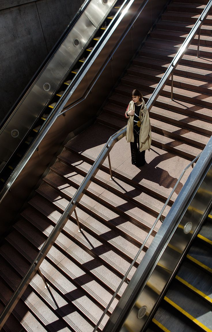 Photographer Neva Wireko combines industrial atmosphere with structured styling …