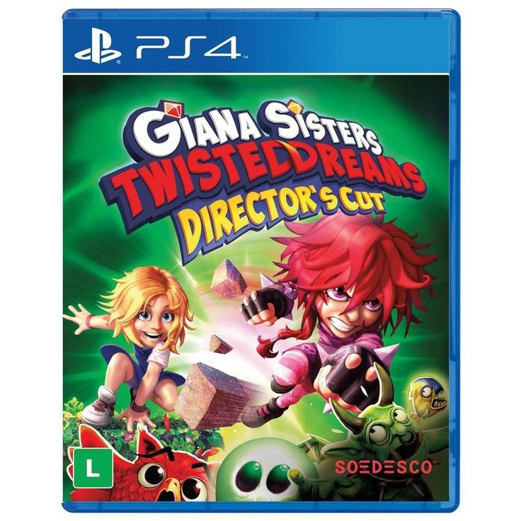Game Giana Sisters: Twisted Dreams Director's Cut - PS4