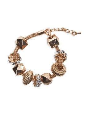 Bike Chain Charm Bracelet | Woolworths.co.za