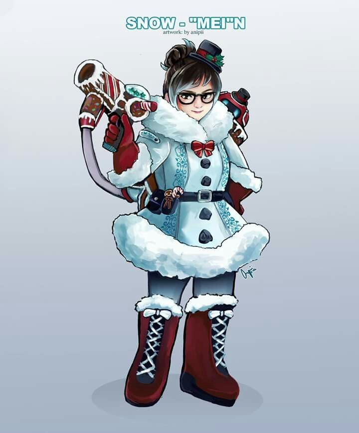 Winter Mei skin concept