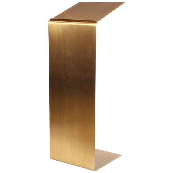 Anonymous; Bronze Podium, 1970s.