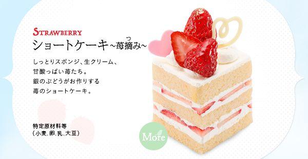 ショートケーキ~苺摘み~