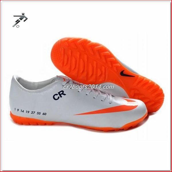 latest listing cheap orange white nike mercurial vapor ix tf victory v football boots shop