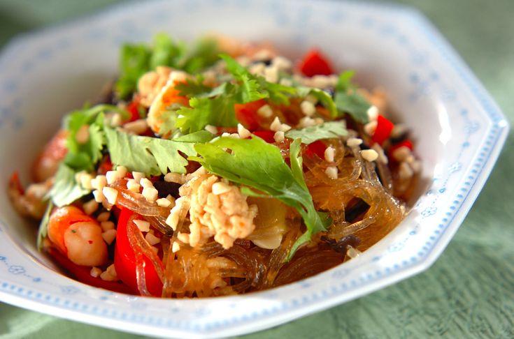 エビと春雨の炒め煮のレシピ・作り方 - 簡単プロの料理レシピ | E・レシピ