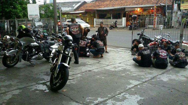 -Blind Eagle MC Jakarta- #MC #1% #MCClubs
