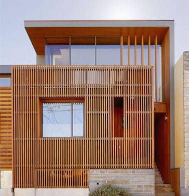 Image result for houses. that combine both cement render and timber cladding