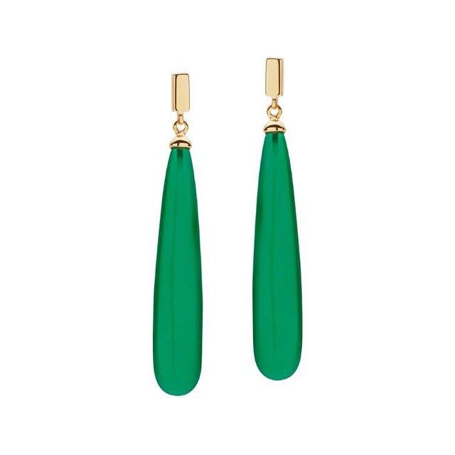 Happy Australia Day. Go green & gold - Juno earrings from the 2015 collection. #Juno #2015collection