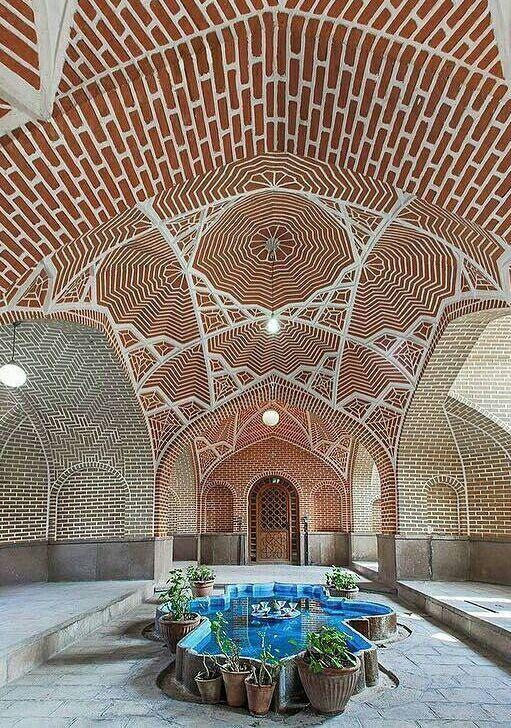 Tabriz, Behnam Ganjeiy house خانه بهنام گنجه ای ازشاهکارهای معماری اواخرزندیه و اوایل قاجار،،،،تبریز