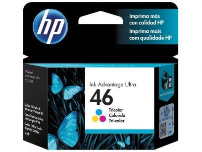 Cartucho de Tinta HP Colorido 46 - Original com as melhores condições você encontra no Magazine Fariasevoce. Confira!