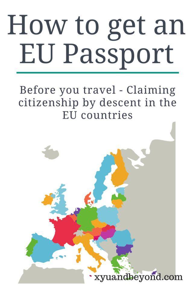 How to get an EU passport|EU Passports obtained by Descent|Grandparents born in the EU get a passport|Family from the EU get a passport|born in Ireland get a passport|traveling in the EU|Your rights to an EU Passport|EU passports|lving in the EU|How to live in the EU|