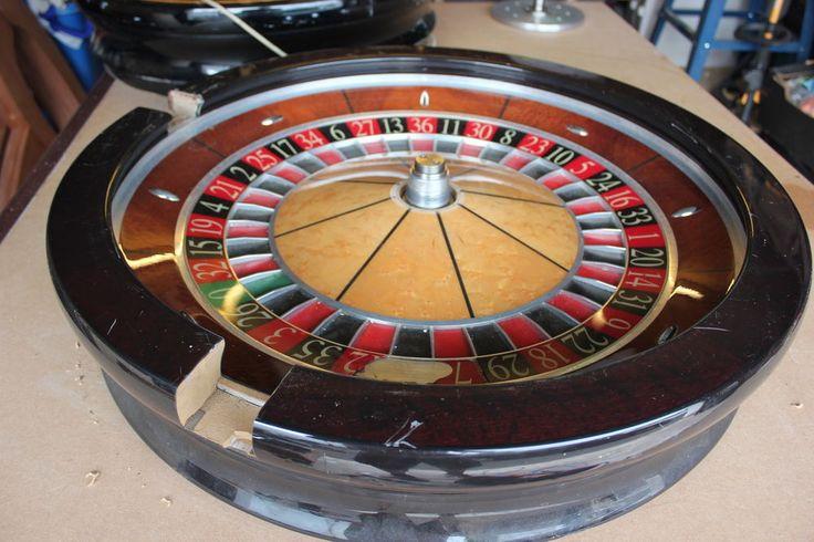 Roulette 4 Hrg 4: Full Size Cammegh Casino Roulette Wheel For Restoration