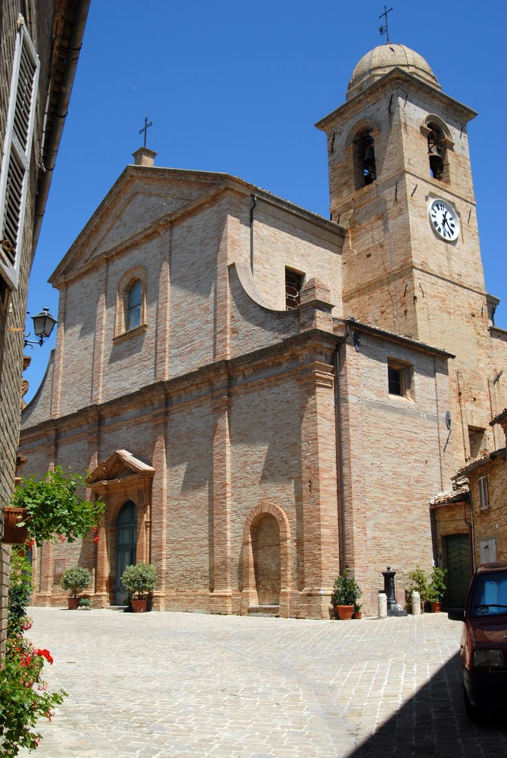 Chiesa di S Vito martire #marcafermana #montevidoncorrado #fermo #marche