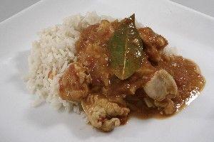 Indisk kylling i wok med kokosmælk, citron og tomat 4