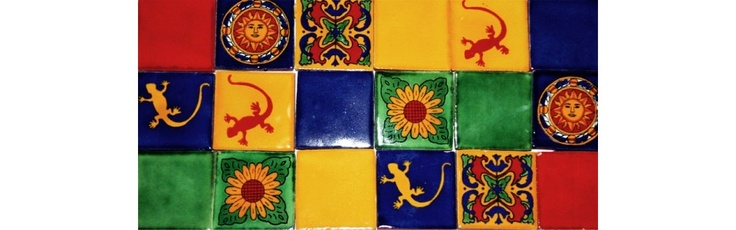 8 best images about les azulejos mexicains carrelage for Carrelage mural sdb