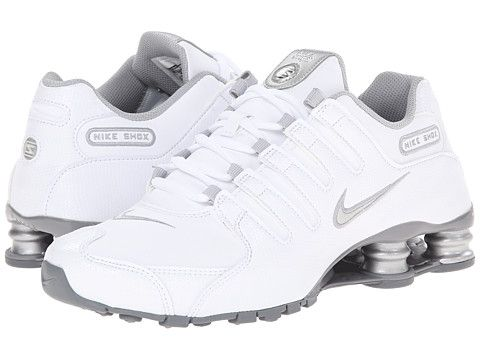 Nike Nike Shox NZ EU White/Metallic Silver/Cool Grey - 6pm.com
