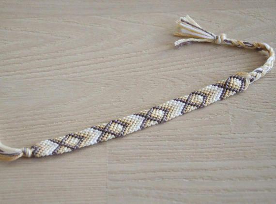 bracelet brésilien bracelet d'amitié motif poissons