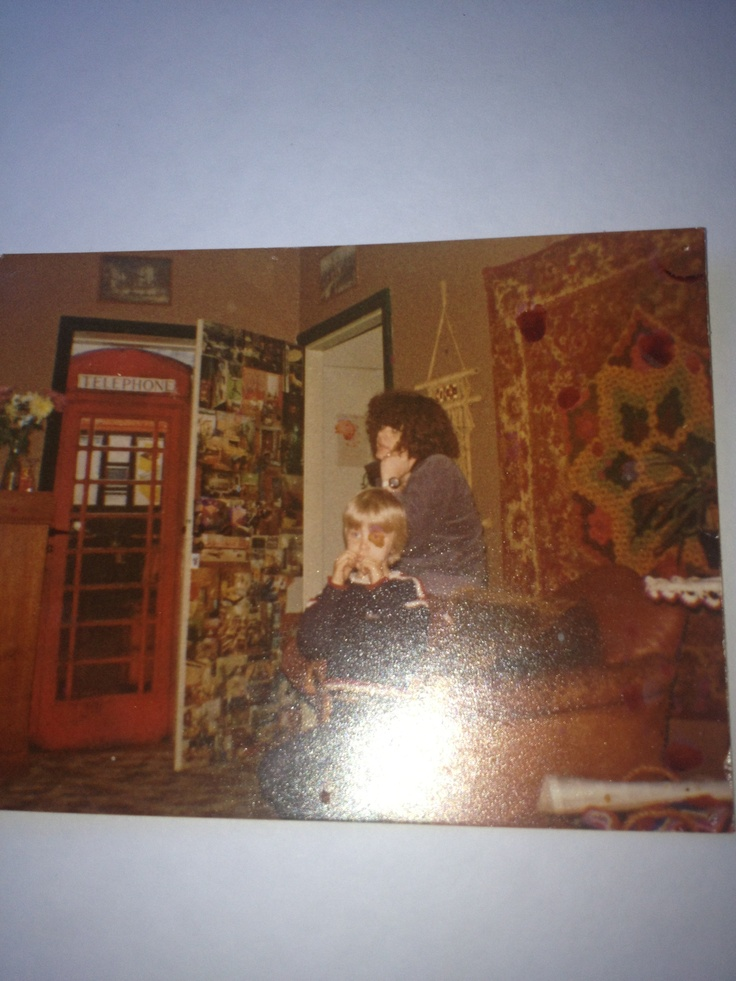 My flat 30 years ago